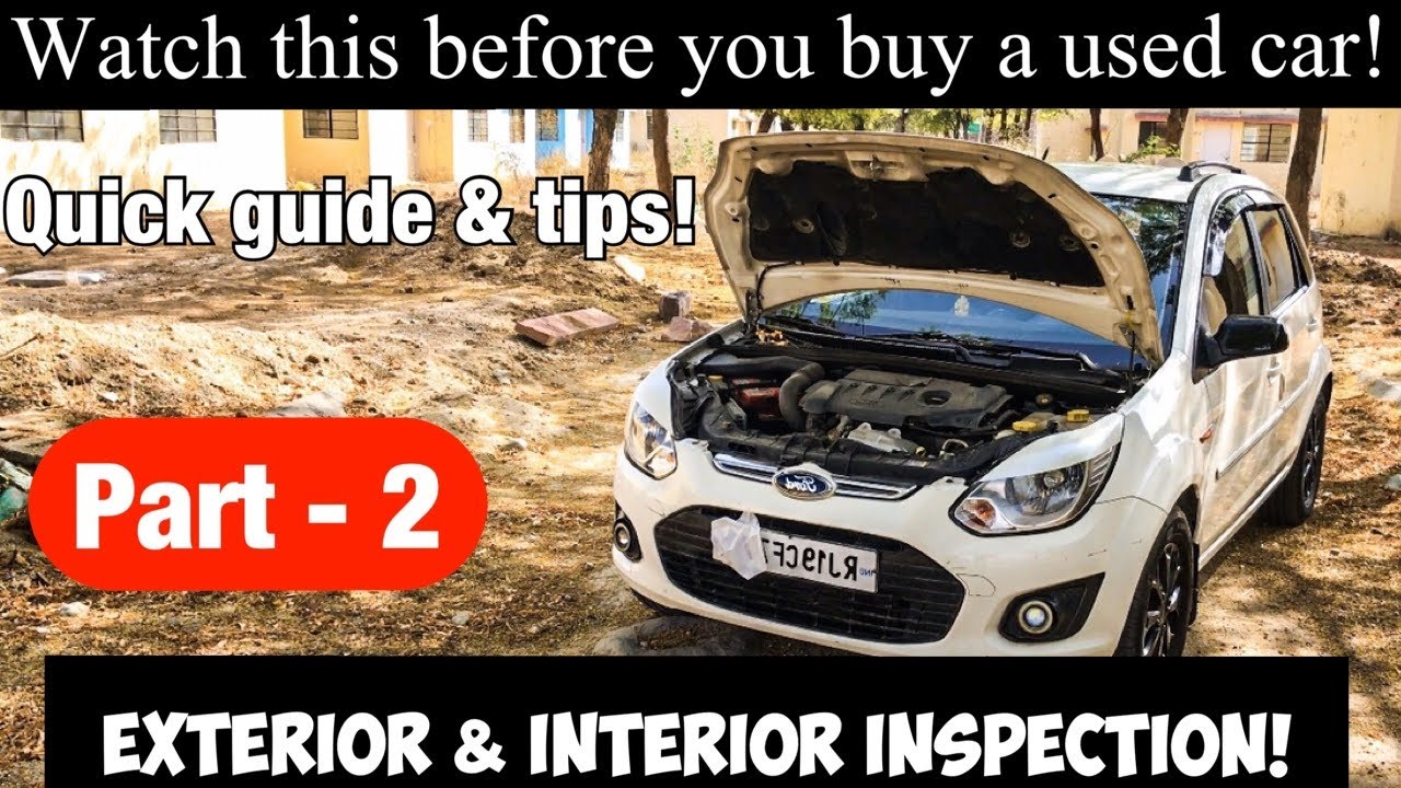 what to look for when buying a 2nd hand car