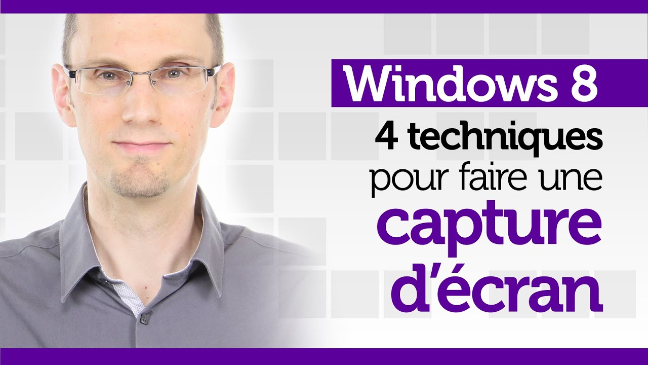 Formation windows 8 faire une capture d ecran youtube for Capture 2cran