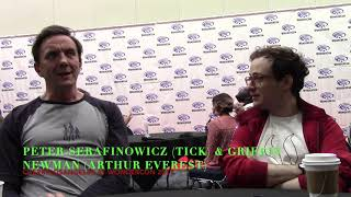 Peter Serafinowicz & Griffin Newman talk the Tick S2 at Wondercon 2019