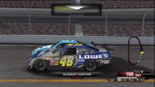 NASCAR 09 - 20 Laps - Gameplay | HD