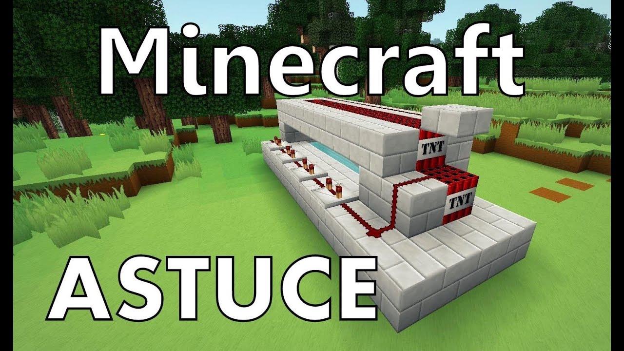 minecraft comment cr er un canon tnt youtube. Black Bedroom Furniture Sets. Home Design Ideas