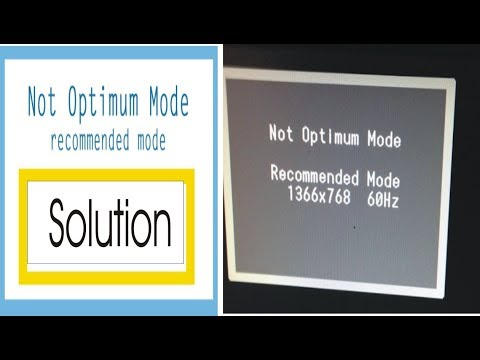 Cannot Display This Video Mode Fix | Fix Cannot Display This Video Mode Optimum Resolution