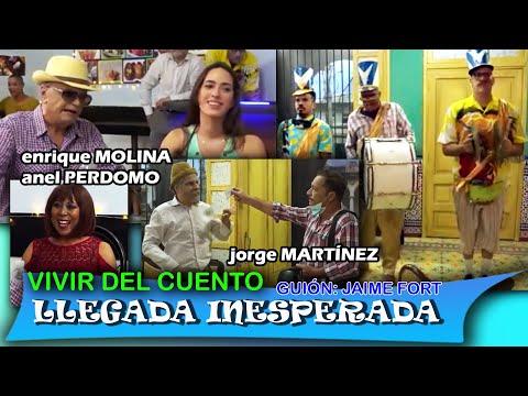 """Vivir del Cuento """"LLEGADA INESPERADA"""" (Estreno 10 mayo 2021) Pánfilo humor cubano"""