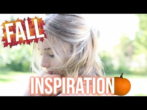 FALL MAKEUP, HAIR, AND FASHION INSPIRATION! | Avrey Ovard