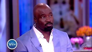 Mike Colter Talks Meeting Sunny On