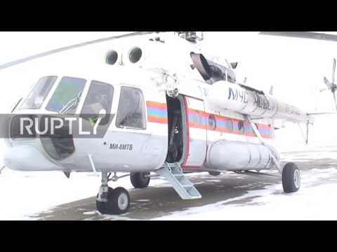 Russia: Rosaviation discover Robinson helicopter in Teletskoye Lake