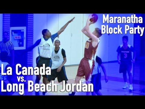 La Canada Vs. Long Beach Jordan At Marantha Block Party