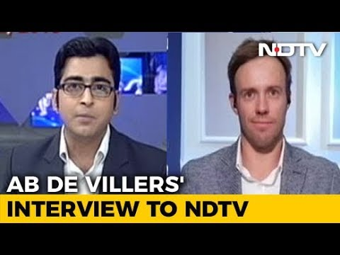 AB de Villiers' Last Interview Before Retirement