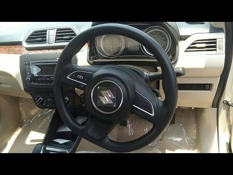 2017 Maruti Suzuki Dzire Mid Variant V Interior And