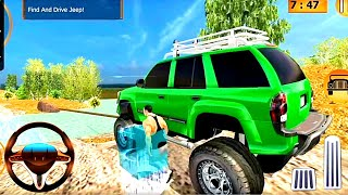 Offroad Jeep Prado Driving  Truck Driver Sim #1 - Android GamePlay