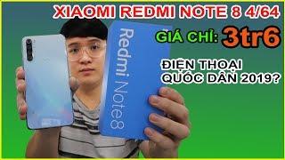 Mở hộp Redmi Note 8 giá 3tr6 trên LAZADA, SHOPEE. Giá quá rẻ, liệu có ngon không?   MUA HÀNG ONLINE