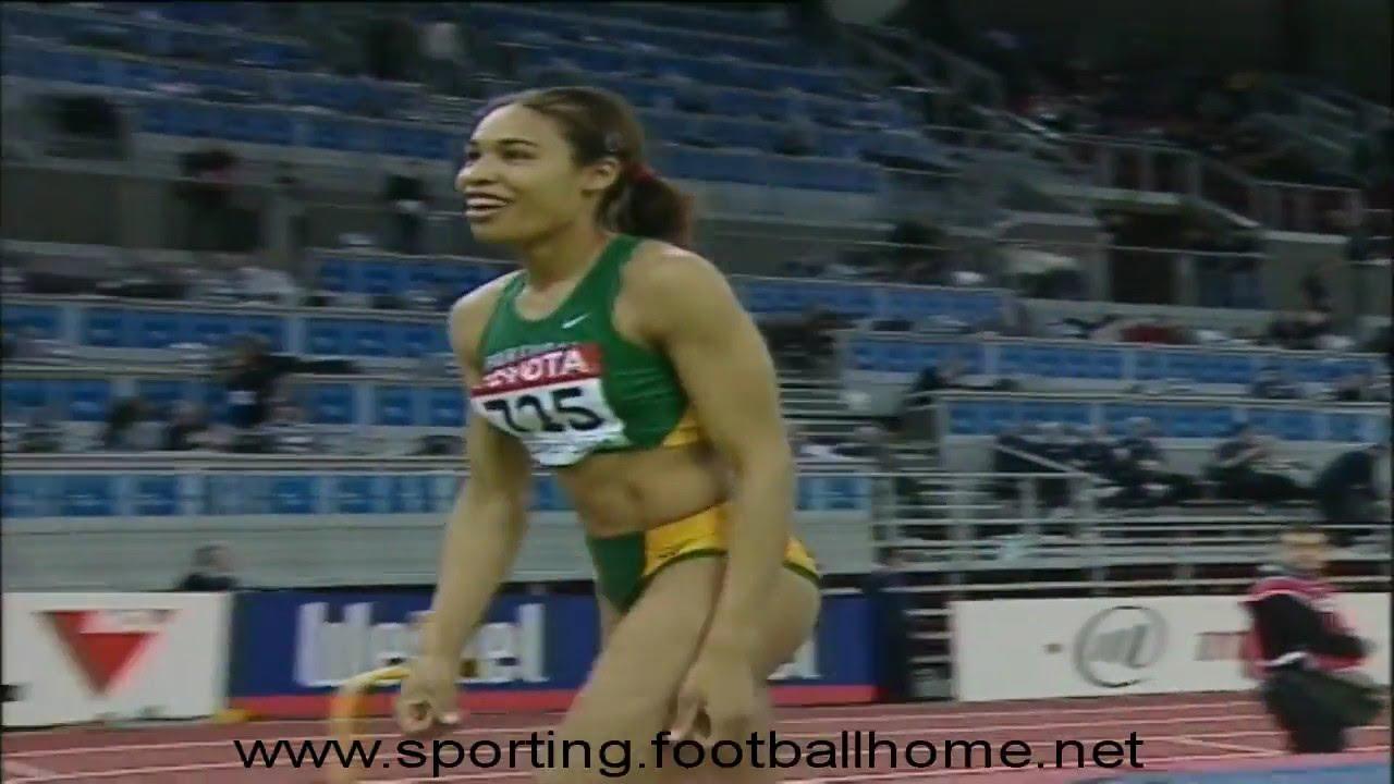 Atletismo :: Naíde Gomes (Sporting), medalha de Ouro nos Mundiais Pista Coberta em Budapeste Março de 2004