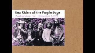 New Riders of the Purple Sage - Glendale Train (Live 1972)