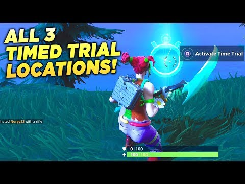 ALL 3 TIMED TRIAL LOCATIONS!