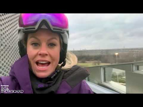 First look at CopenHill with Ski Sunday's Chemmy Alcott