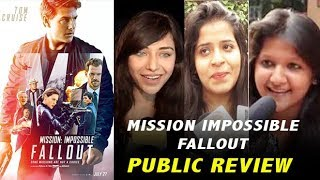 Mission Impossible Fallout Public Review | Tom Cruise | Honest Reaction | MI 6 Review