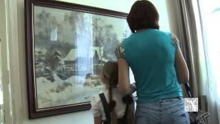 Выставка С.Н. Андрияки в Коломне