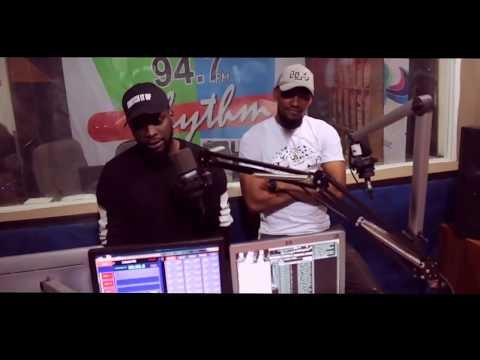 O.Z 247 at Rhythm FM Abuja (Radio Tour)