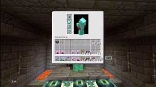 Minecraft - PS3 - How To Kill The Ender Dragon ( EPIC!)