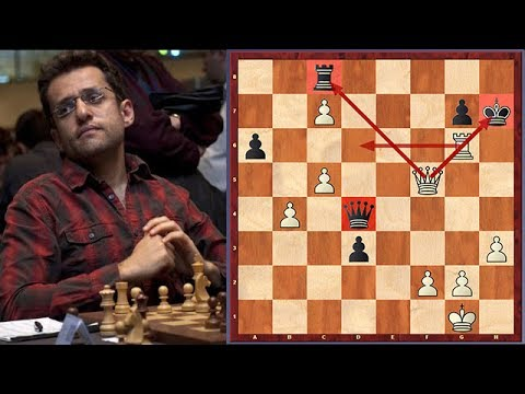 Aronian vs. Carlsen: Aronian Sacrifices His Pieces One After Another