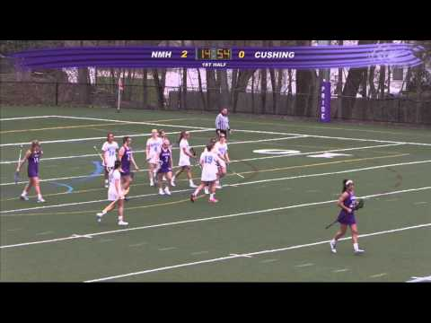 Cushing Academy - Varsity Girls Lacrosse vs. Northfield Mount Hermon School