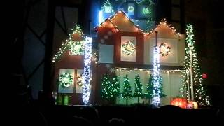 Getting in the Christmas Mood 2011 - Wizards in Winter Light Show