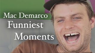 Mac Demarco Funniest Moments 2017