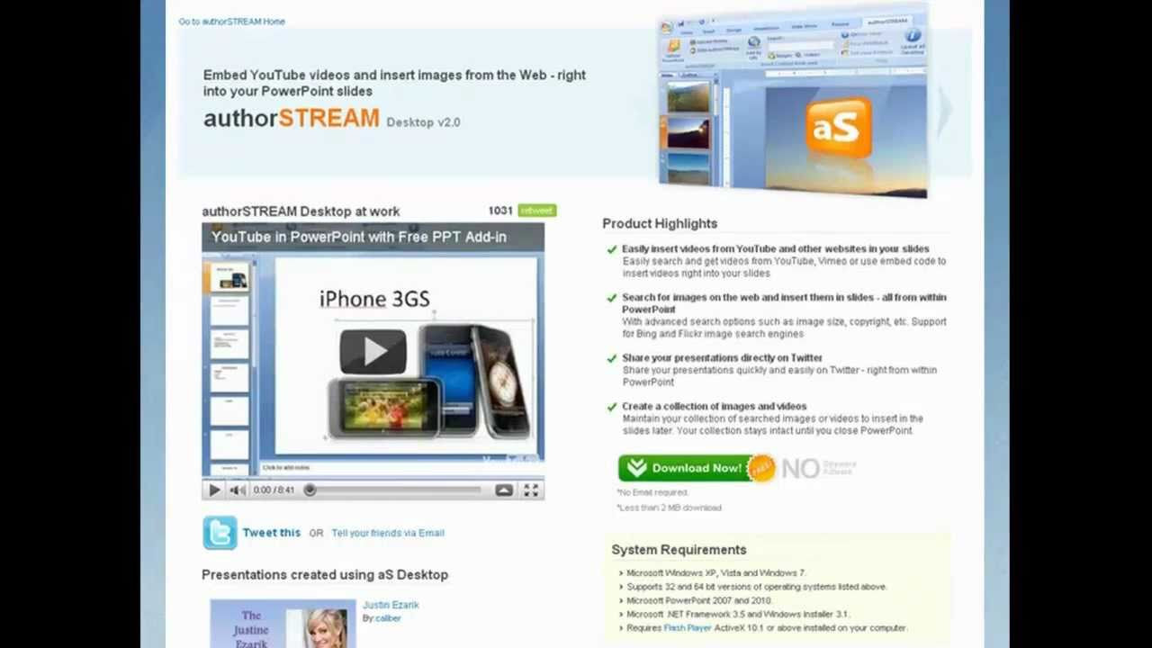 Powerpoint: July 2011: Latest Powerpoint News, Powerpoint Tips, Plugins,  Powerpoint Tutorials Record A Youtube Video