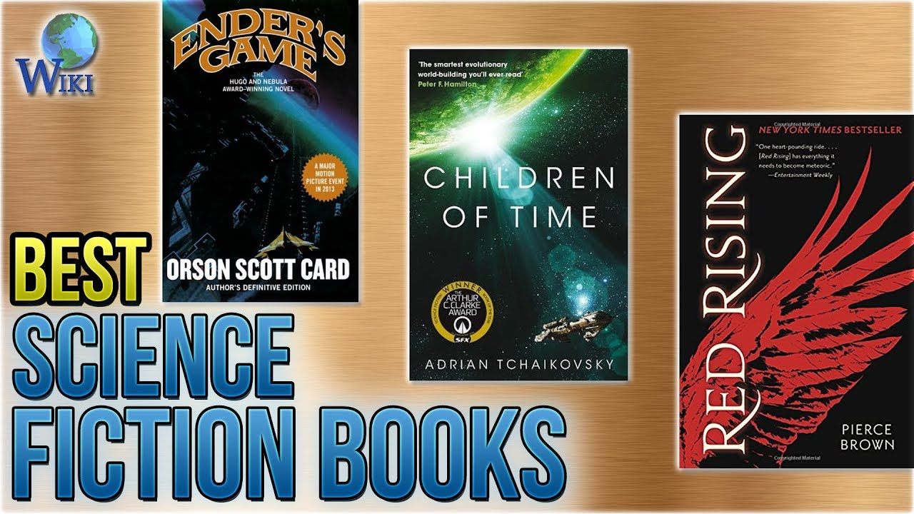 10 Best Science Fiction Books 2018 - YouTube