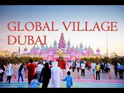 Global Village Dubai 2018 - Walking Tour - Full HD