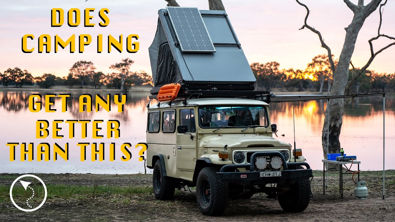 Stunning Lakeside Camp Spot in Country Victoria - Road trip from the Coonawarra