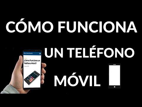 Cómo Funciona un Teléfono Móvil