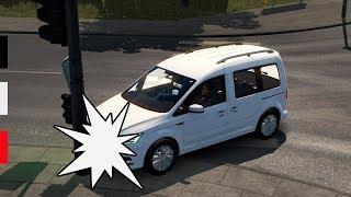 İlk Trafik Kazamın Canlandırılması! - ETS 2 VW Caddy Modu