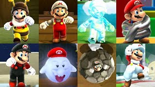 Super Mario Galaxy Series - All Power-Ups