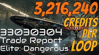 Elite: Dangerous - Trade Report 33030304