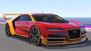 NEW ADDER BEST CAR IN THE GAME!? (GTA 5 Funny Moments DLC)
