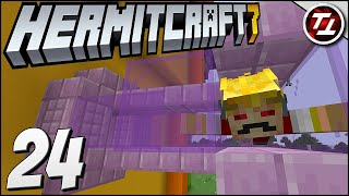 Bendy Delivery Pipes! - Hermitcraft Season 7: #24