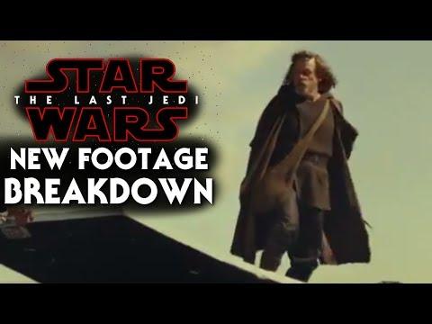 Star Wars The Last Jedi New Footage Breakdown!! Behind the Scenes