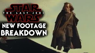 Star Wars The Last Jedi New Footage Breakdown!! Behind the Scenes