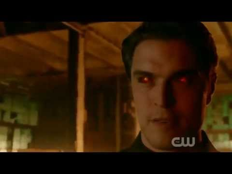 The Messengers 1X03 the Man Diogo Morgado walking in fire