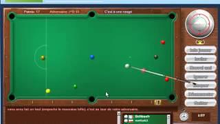Snooker, le billard en ligne