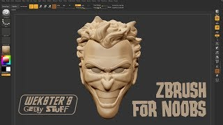 Zbrush tutorial for absolute beginners