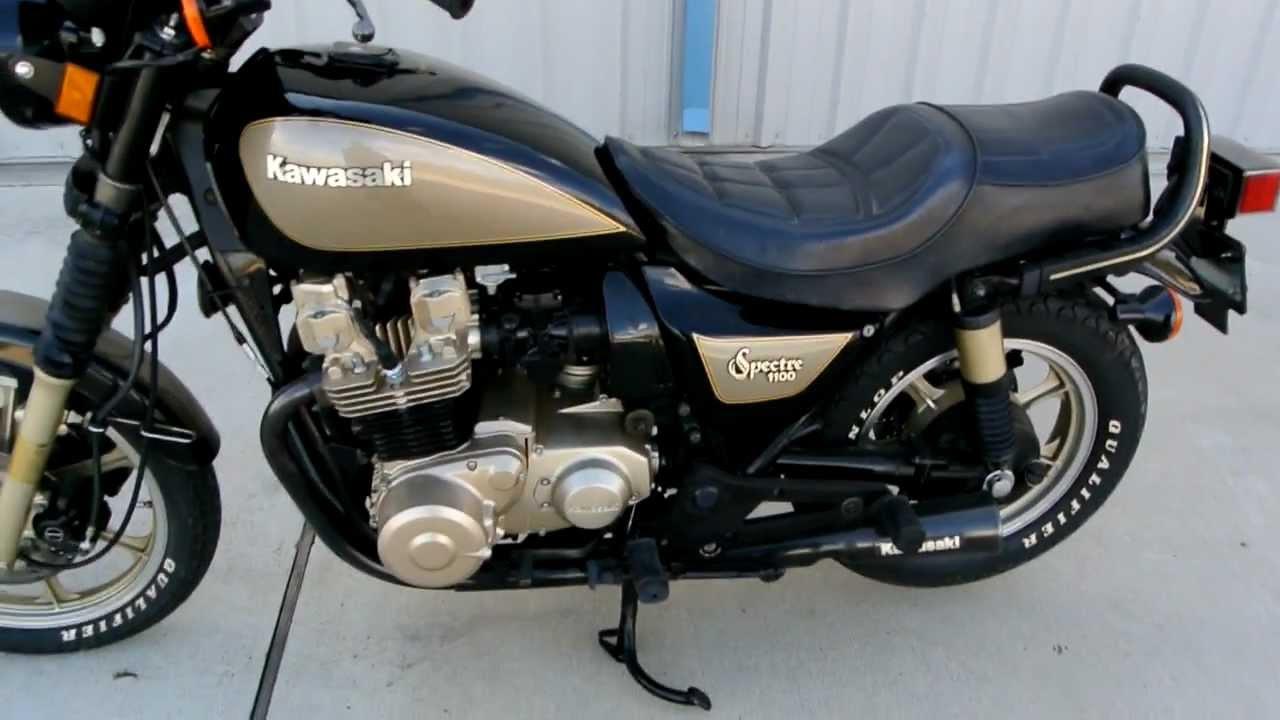 my vintage 1983 kawasaki kz1100 spectre youtube Kawasaki Engines Logo