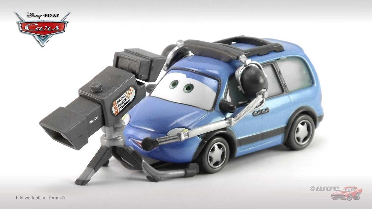 "Disney Cars Chuck /""Choke/"" Cables"
