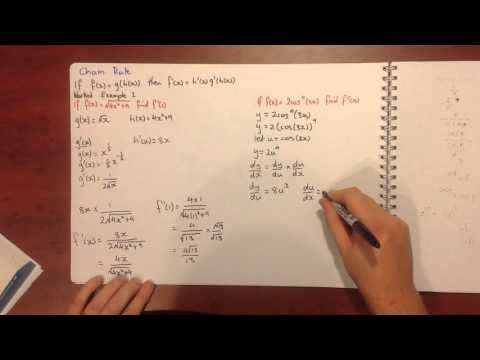 Specialist Maths 7.2 Review of Differentiation Techniques