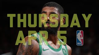 NBA Daily Show: Apr. 5 - The Starters