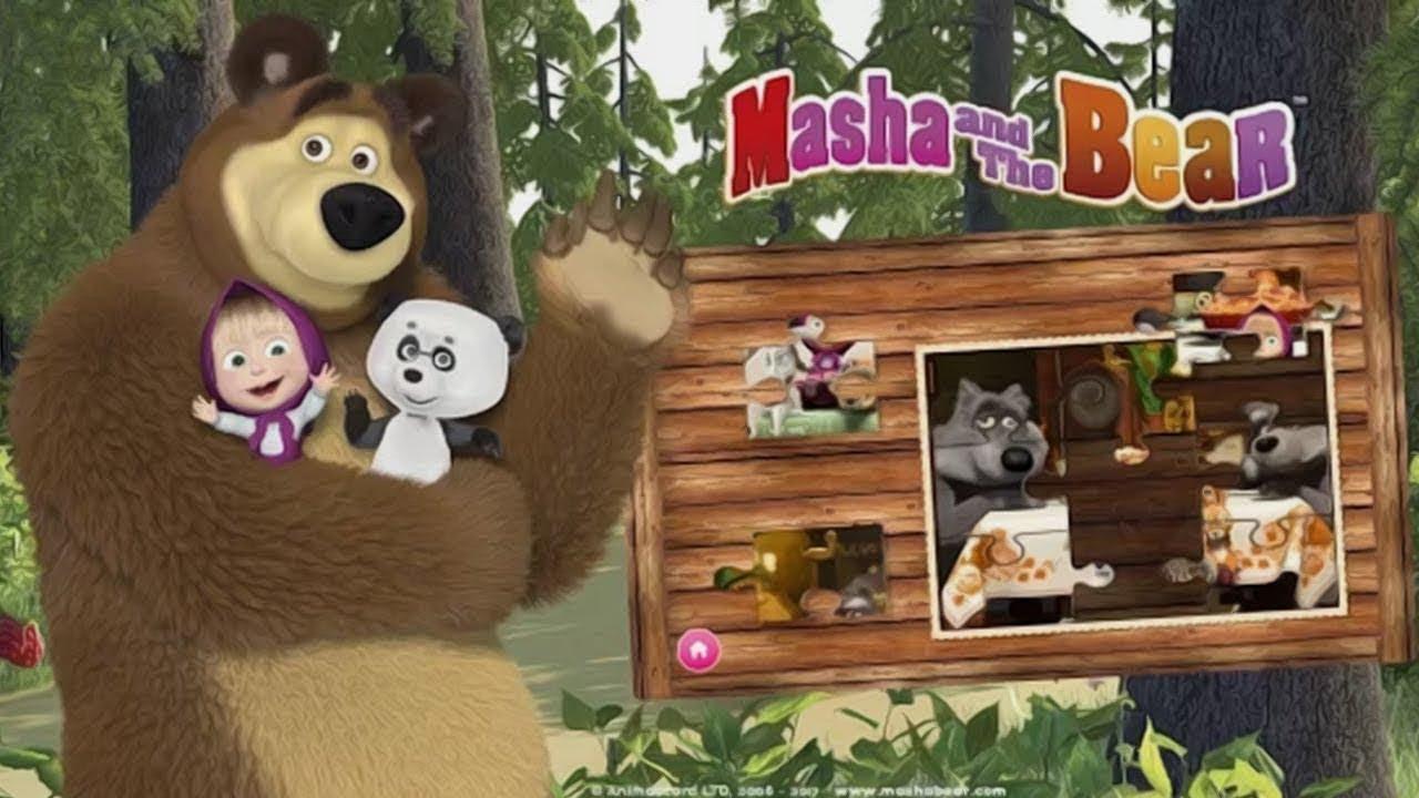 Маша и медведь: обучающие игры// Masha and bear