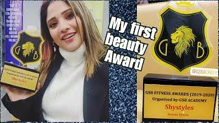 Vlog: First beauty award    best $tart 2020