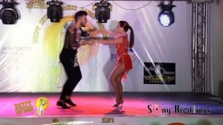 Victor & Cristina bachata Show @ 2nd Egypt International Dance congress 2016
