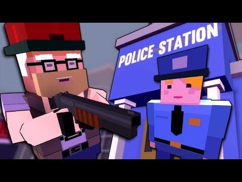 GANG MEMBER INVADES POLICE STATION! - Gangs Update - Broke Protocol Gameplay